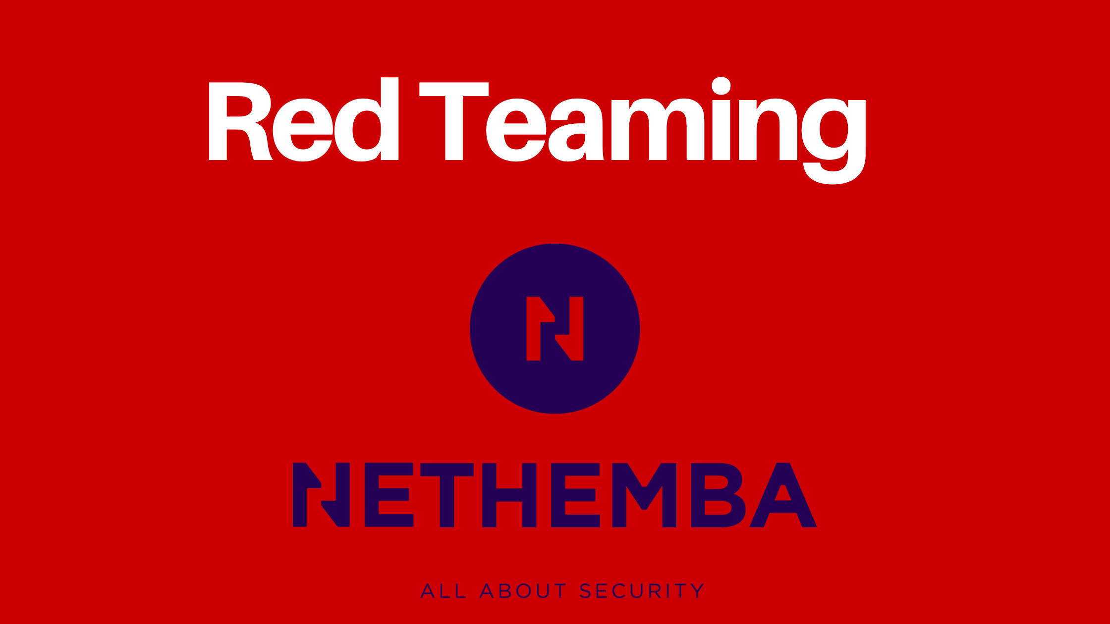 RED TEAMING – CAN YOU WITHSTAND A PROFESSIONALLY LED ATTACK?