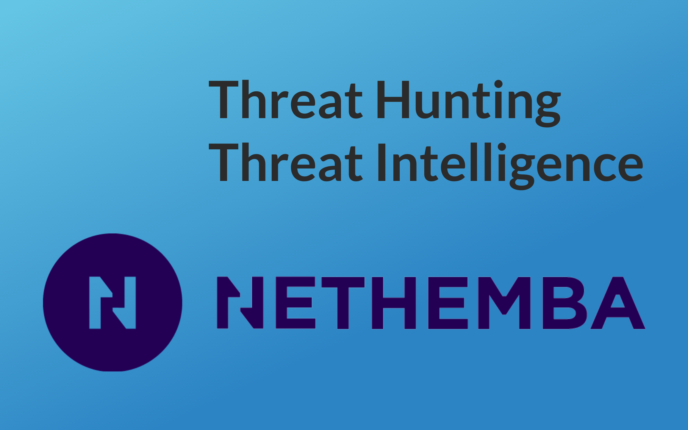 Threat Hunting and Threat Intelligence services